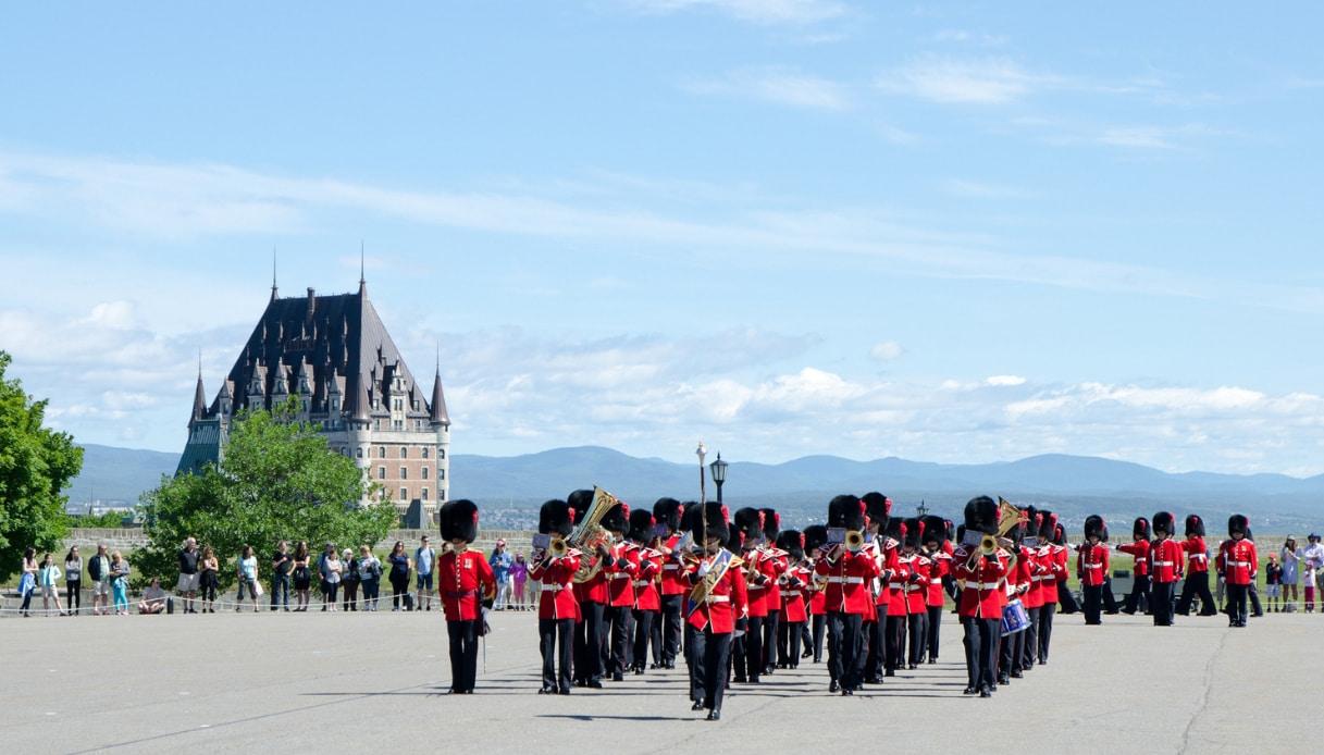 Cambio guardia Quebec