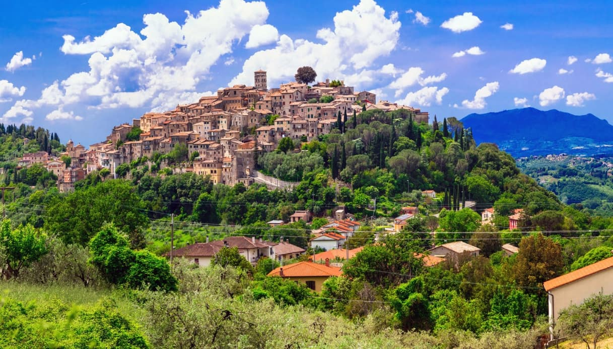 Casperia, l'antico borgo del Lazio citato nell'Eneide di Virgilio