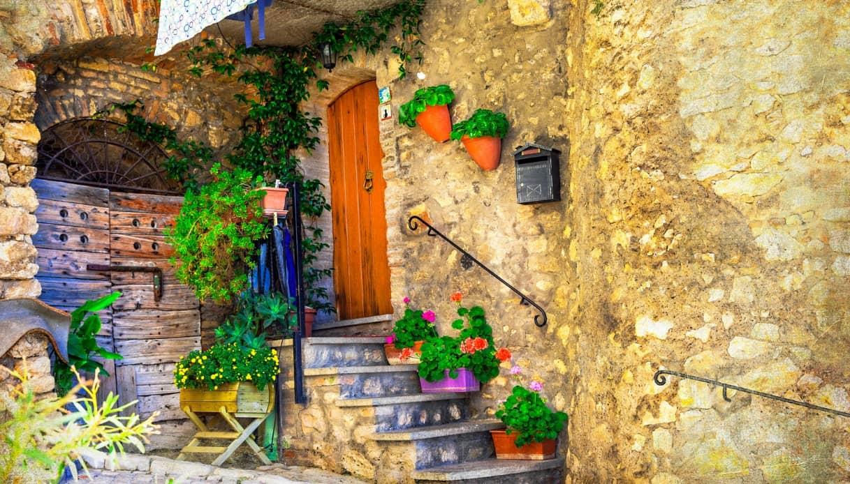 Casperia, l'antico borgo del Lazio citato nell'Eneide di Virgilio | SiViaggia