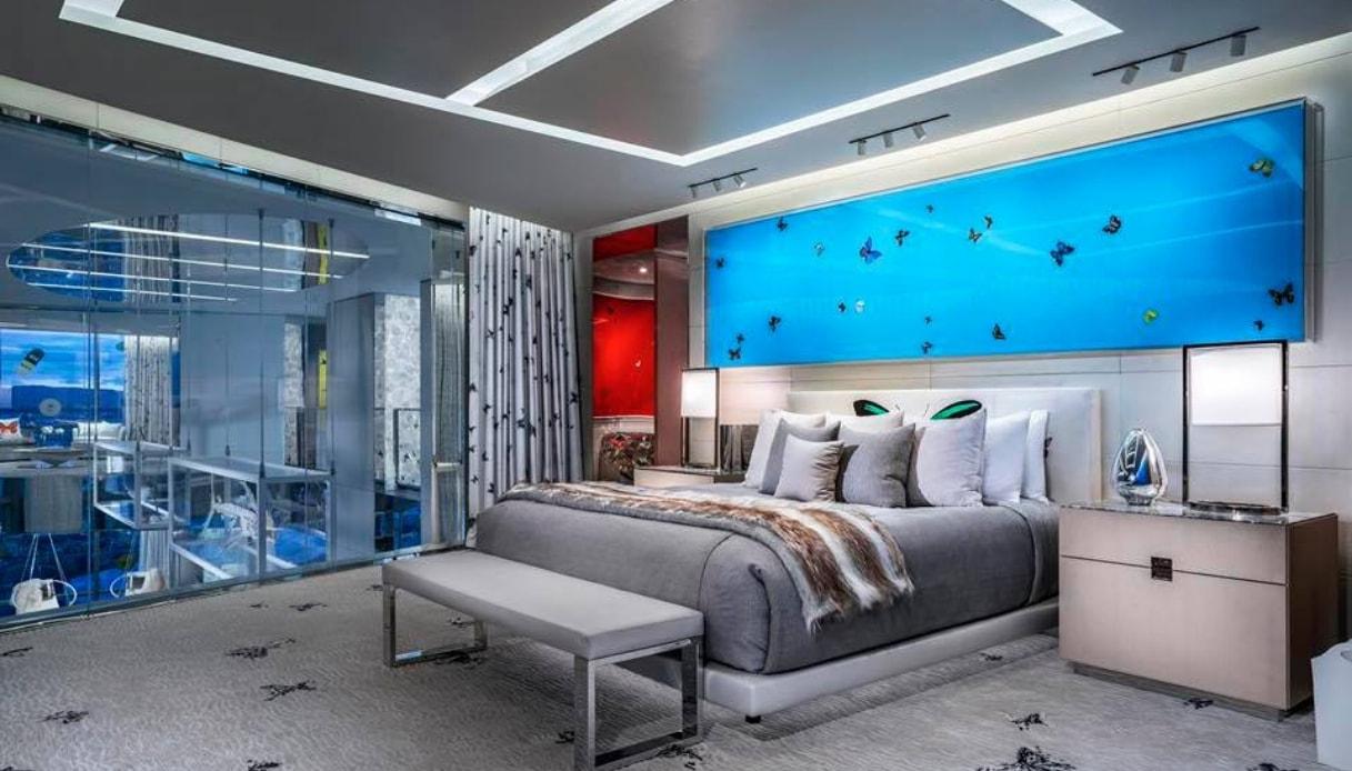 Camere Da Letto Piu Belle Del Mondo las vegas, inaugurata la suite più cara d'america | siviaggia
