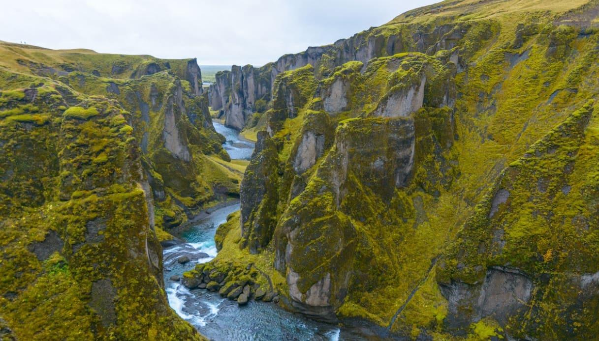 Fjadrargljufur, il canyon d'Islanda chiuso per colpa di una canzone