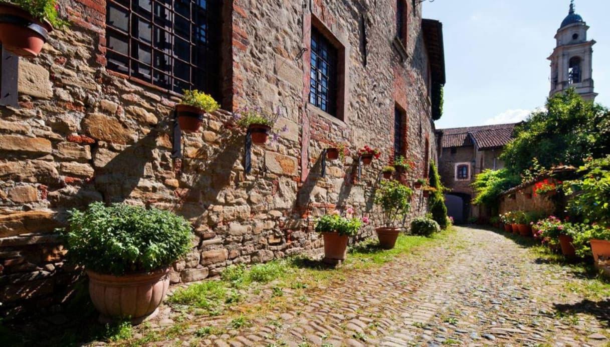 Il romantico castello di Tagliolo Monferrato