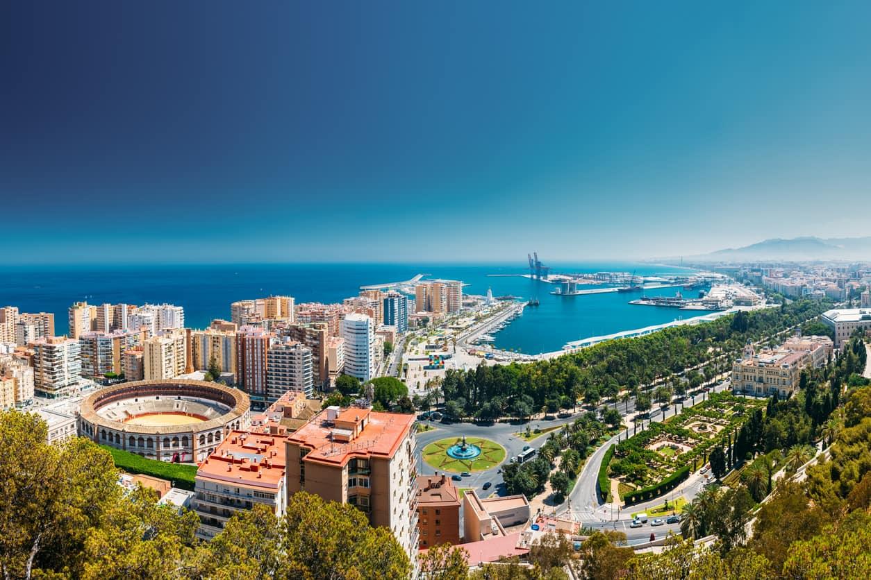 10. Le mete più richieste per Pasqua: Malaga, Spagna