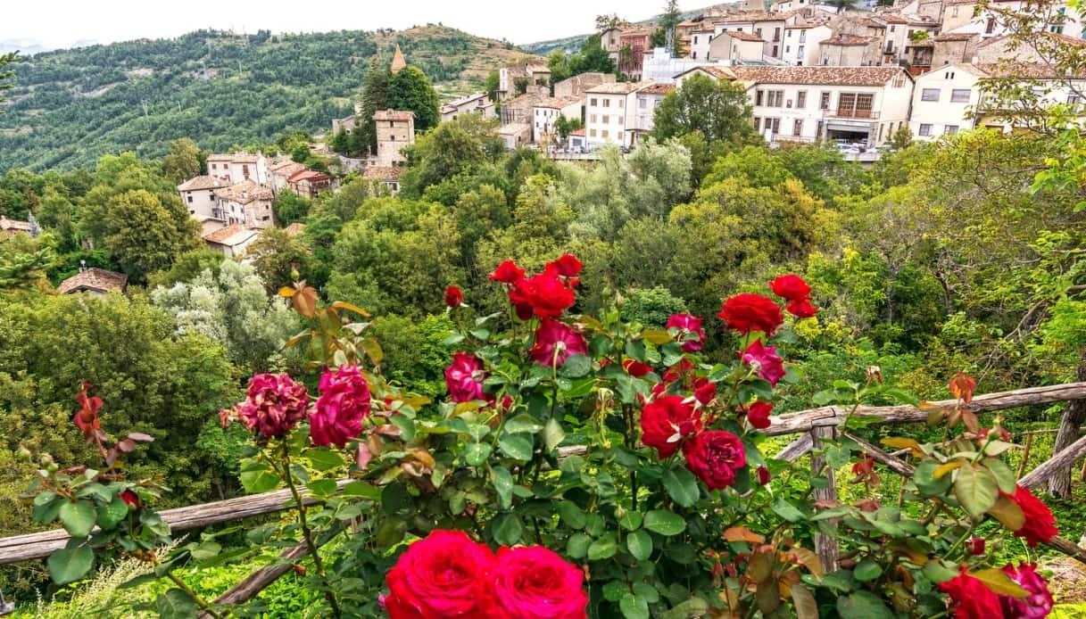 pietracamela borgo rose