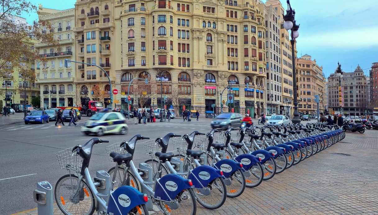 Valencia bicicletta