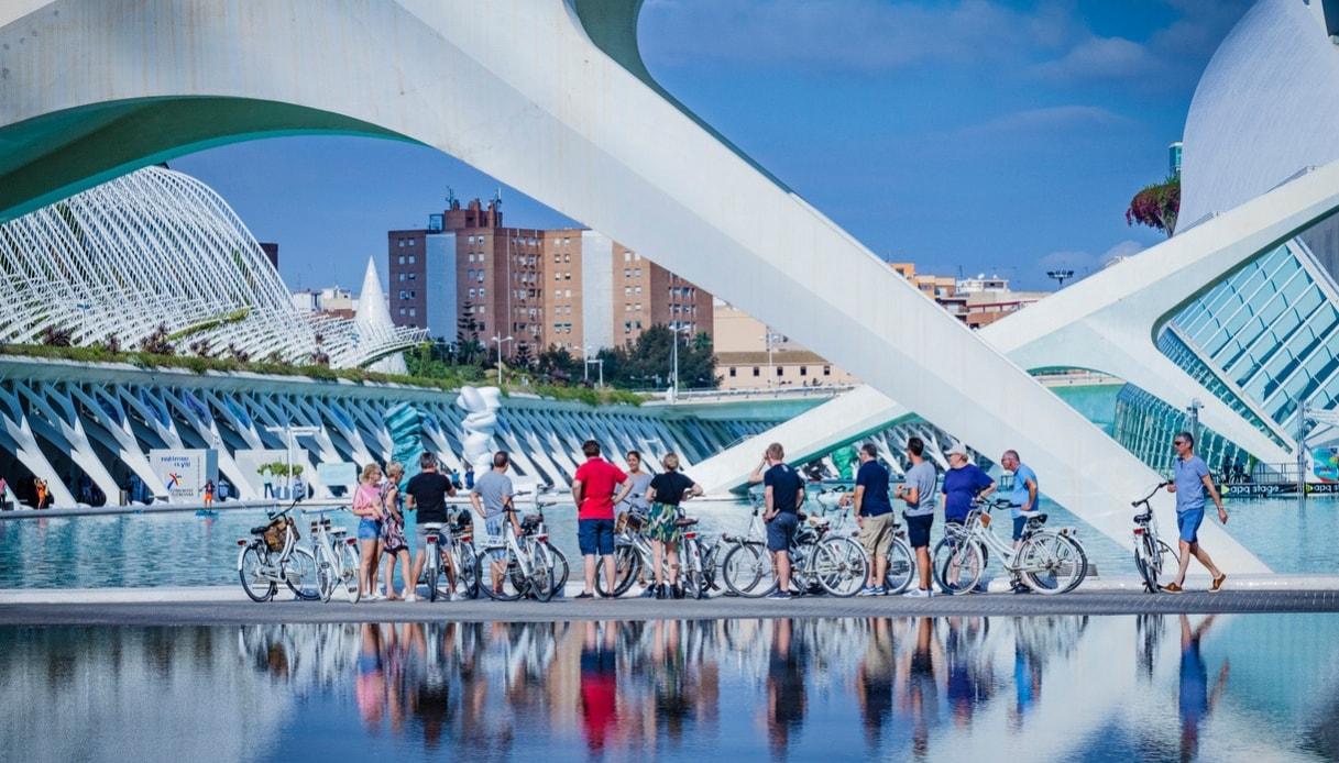 Valencia, una città a misura di bicicletta