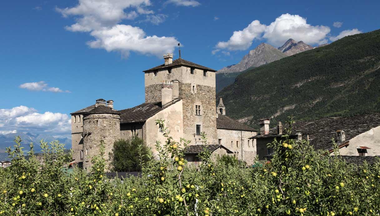 castello-Sarriod-de-La-Tour-aosta