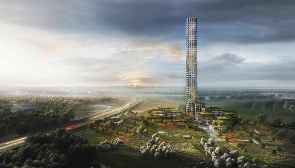 Danimarca - Grattacielo a Brande