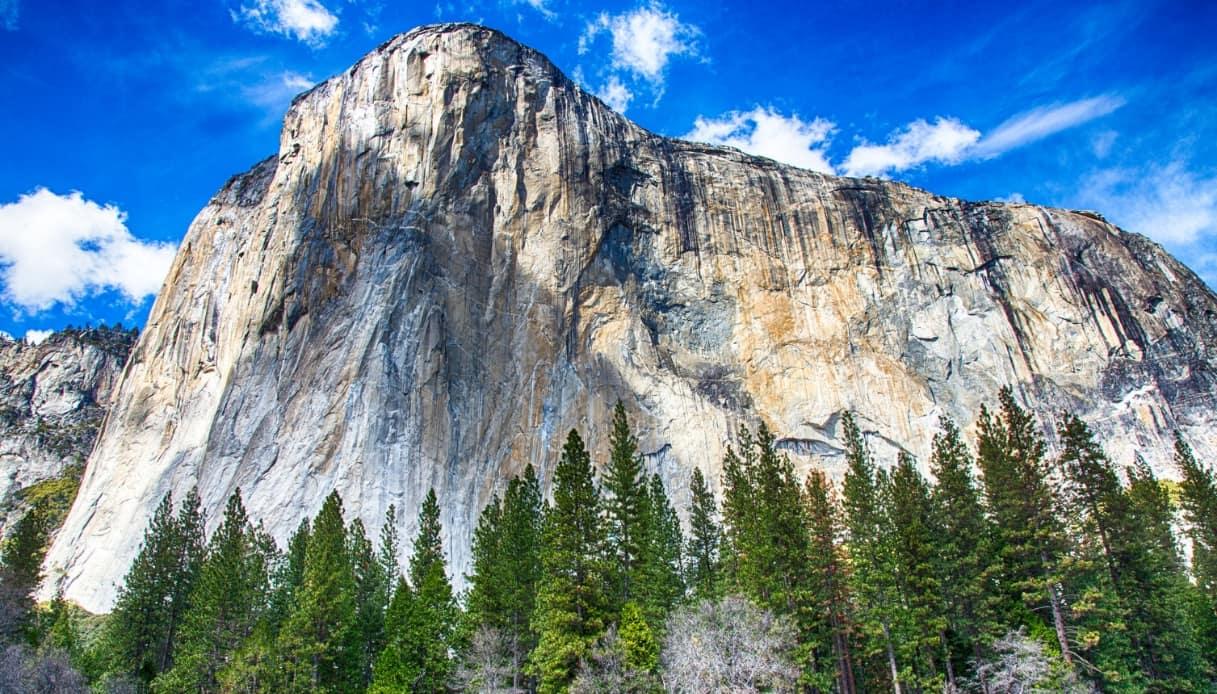 El Capitan, il gigante di roccia che domina lo Yosemite
