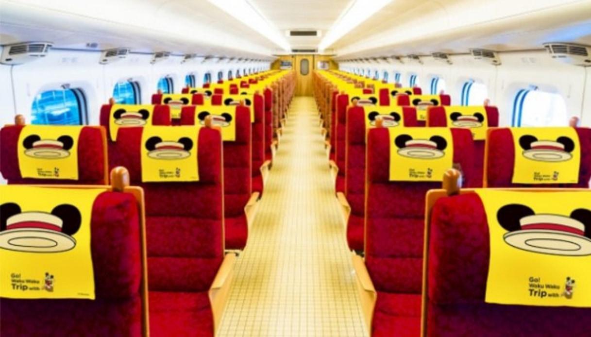 Giappone - Treno Topolino