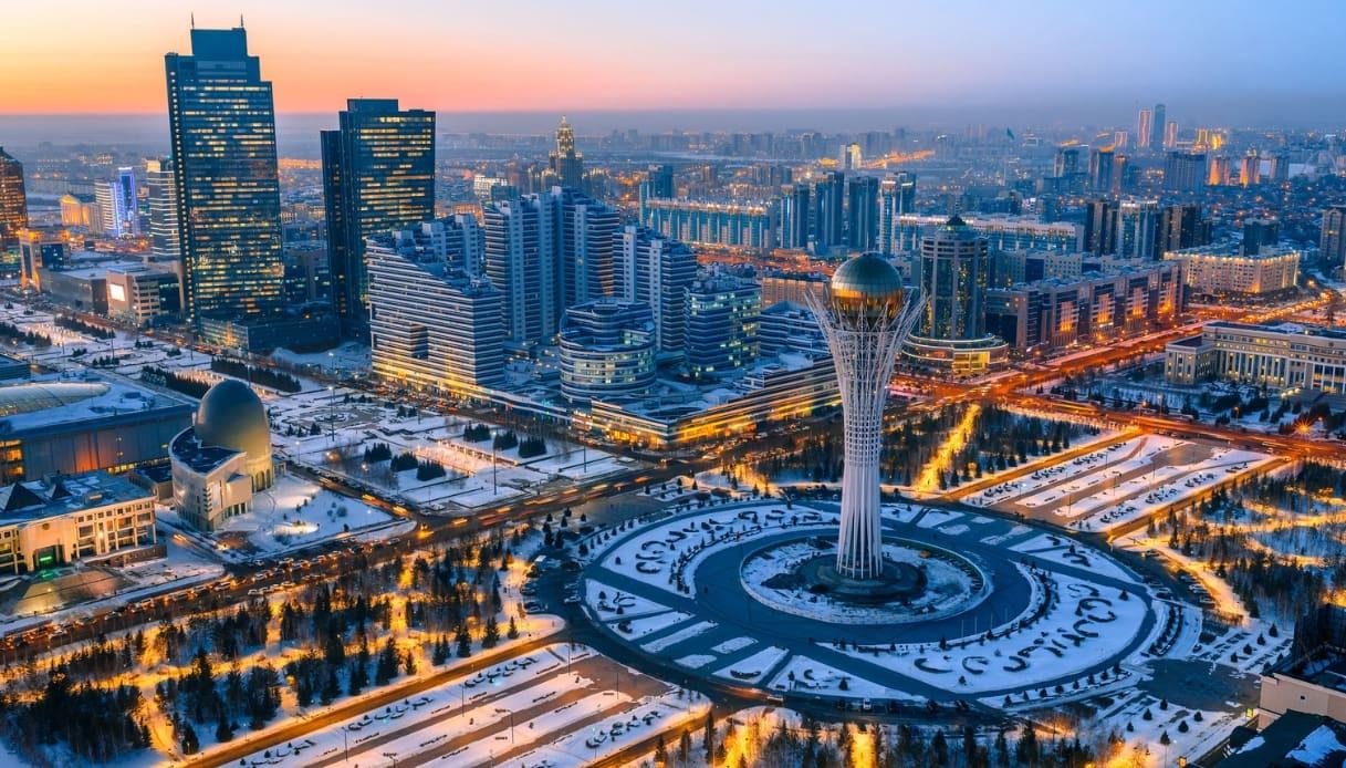La capitale del Kazakistan cambia nome: da Astana a Nur-Sultan