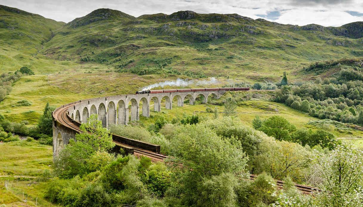 Viaggio su treni panoramici