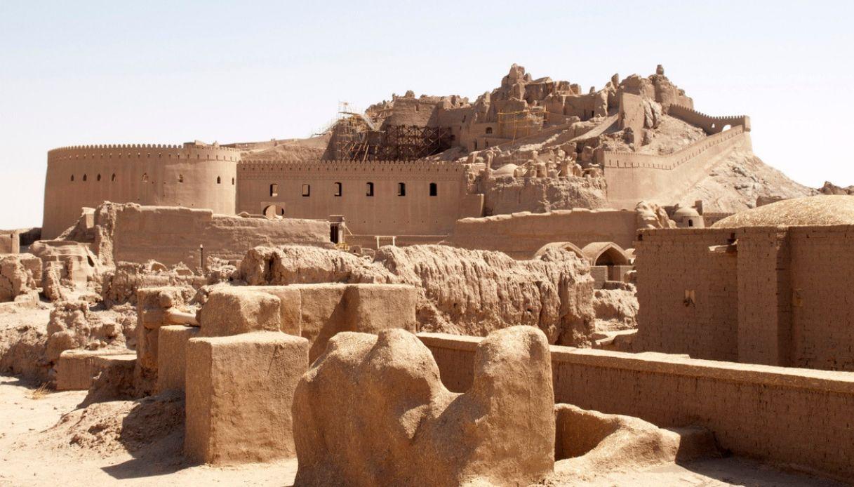 Arg-e Bam, la città dell'Iran che somiglia a un enorme castello di sabbia