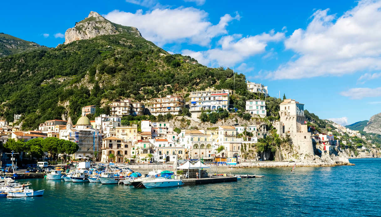 Borgo di Cetara in Costiera Amalfitana
