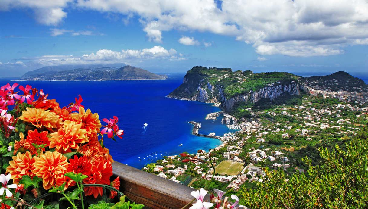Costiera Amalfitana vista dall'alto