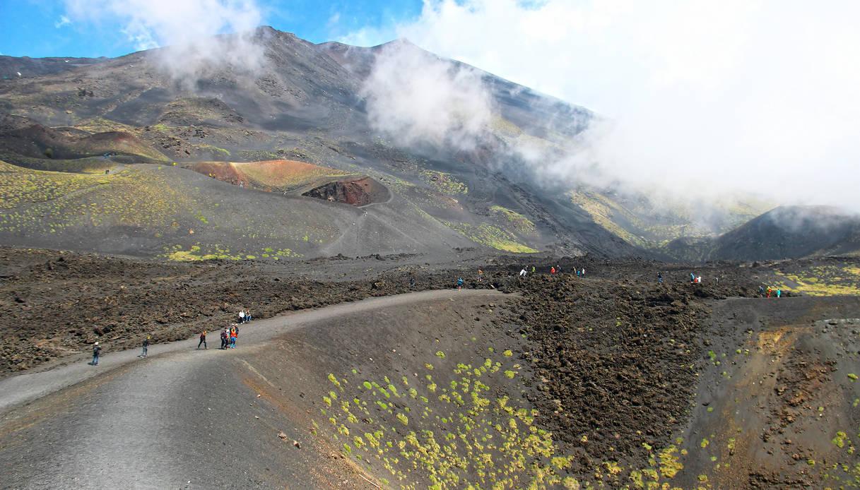 Salita alla cima dell'Etna
