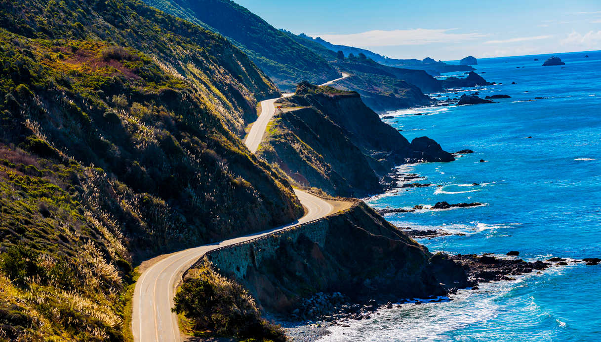 Percorrere la Highway 1 a Big Sur