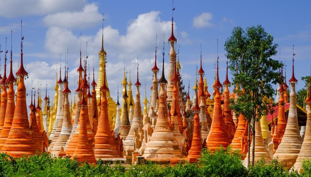 La giungla della Birmania nasconde un villaggio di templi perduti