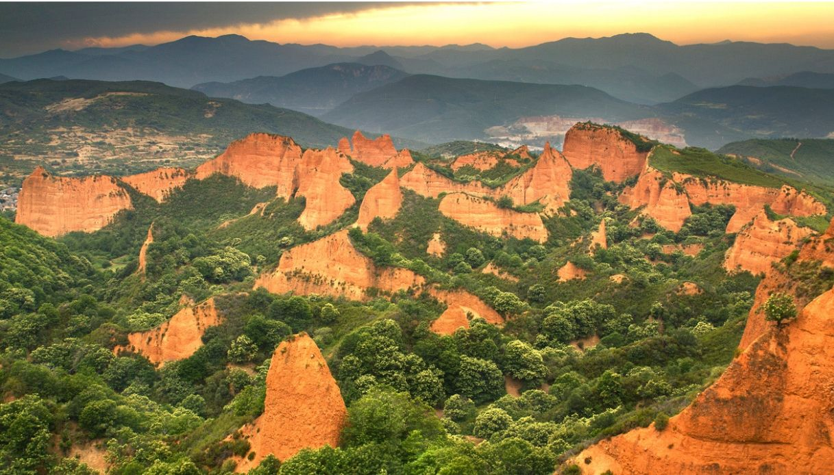 Las Médulas, la splendida terra dei cercatori d'oro in Spagna