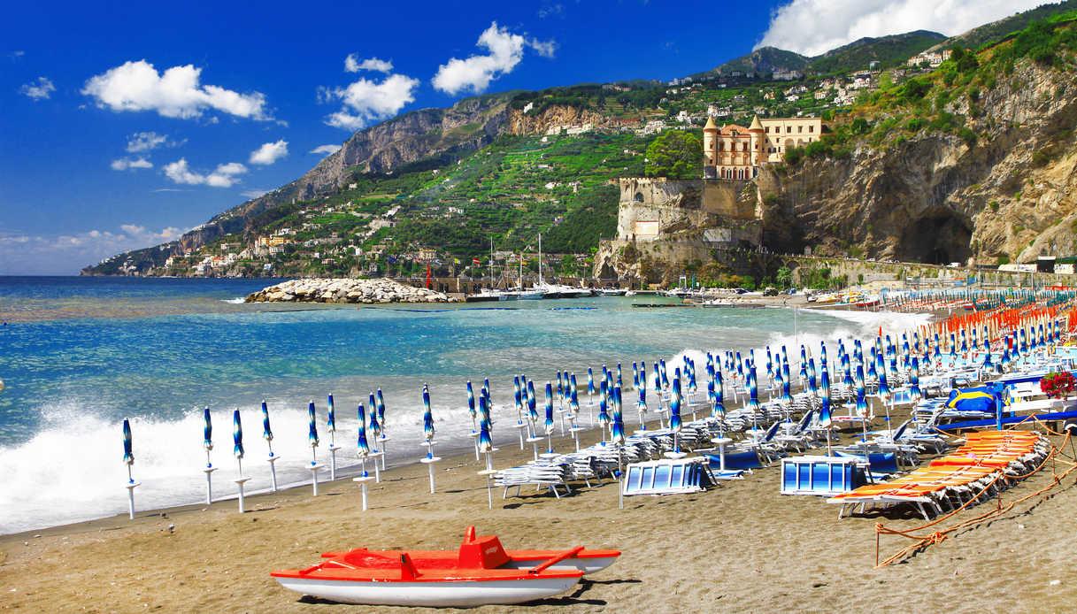 Spiagge del borgo di Maiori