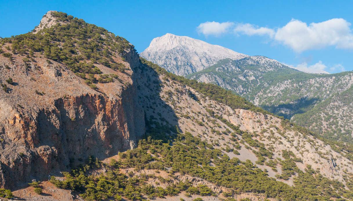 Il Monte Pachnes a Creta