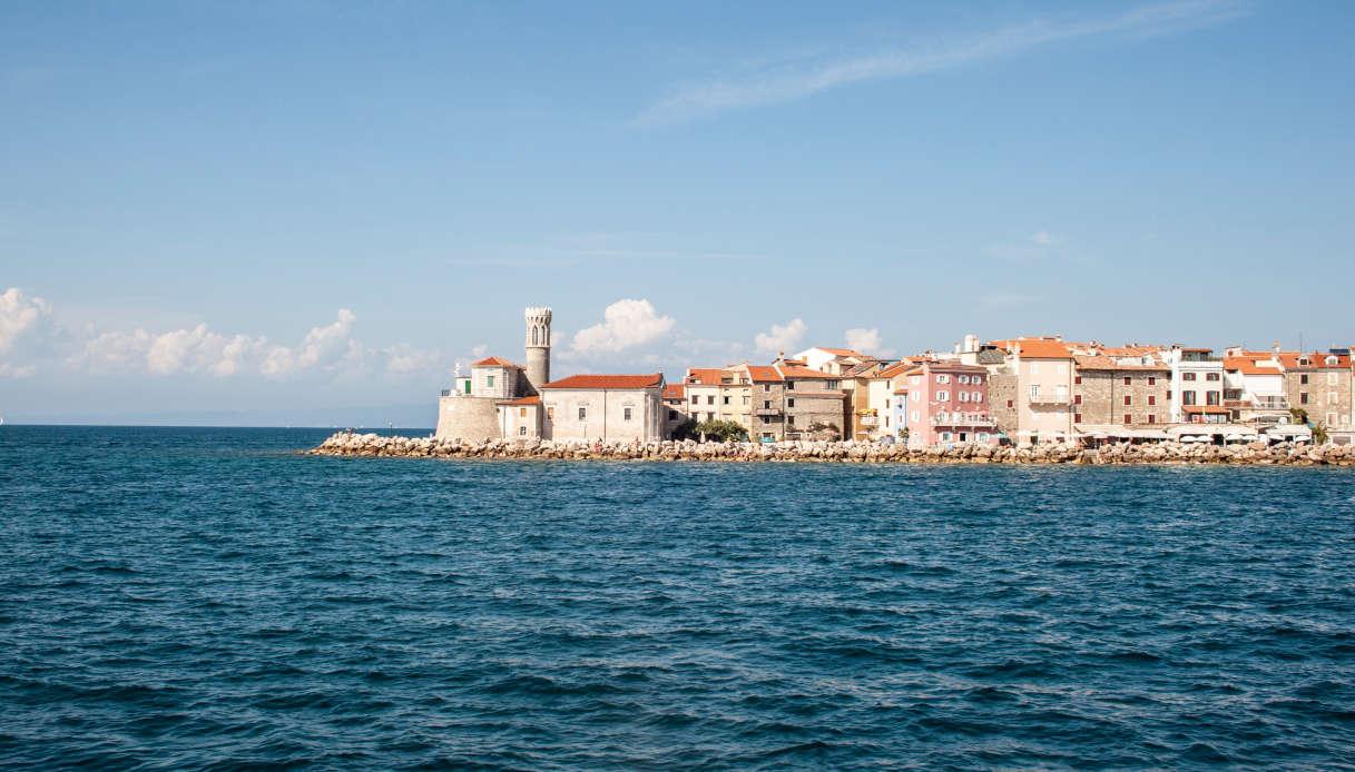 spiagge più belle slovenia