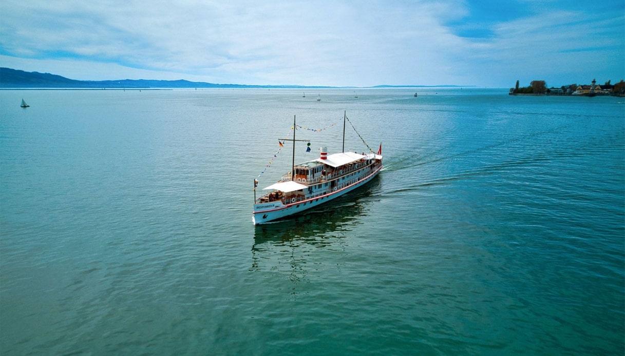Sul lago di Costanza, a bordo della più bella nave a vapore d'Europa