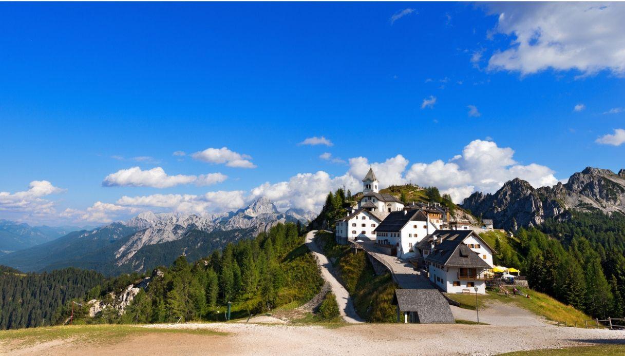Verso il Santuario del Monte Lussari lungo il Cammino Celeste