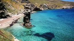 Le più belle spiagge di Andros, l'isola delle Cicladi