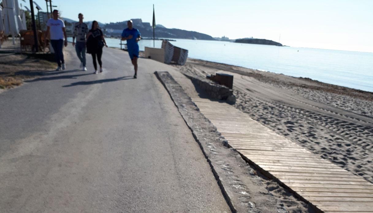 dove correre a Ibiza