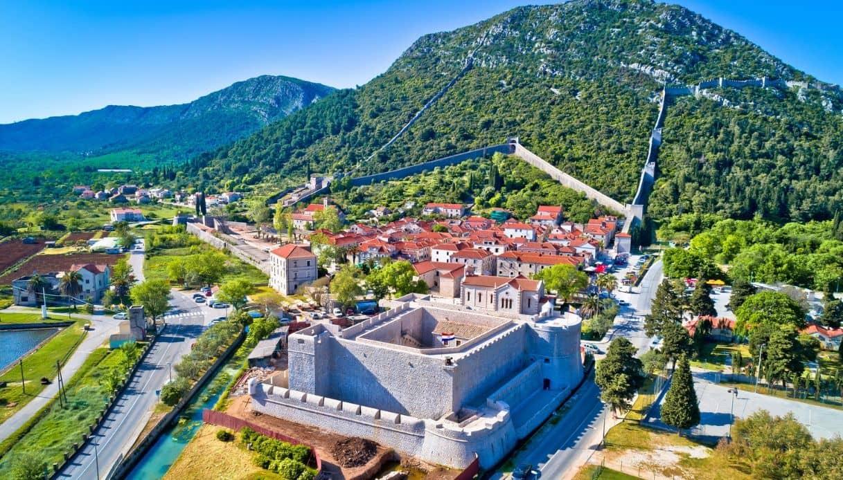 In Croazia sulle mura di Stagno, le più lunghe dopo quelle cinesi