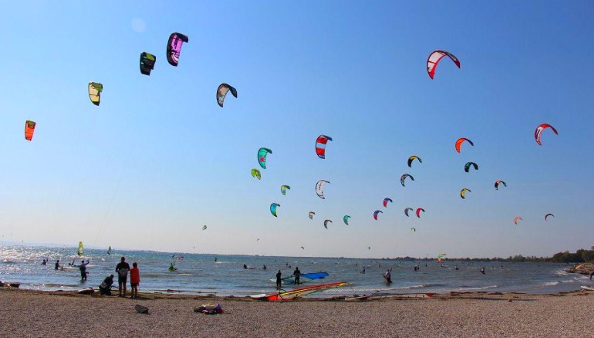 Kite in Friuli Venezia Giulia