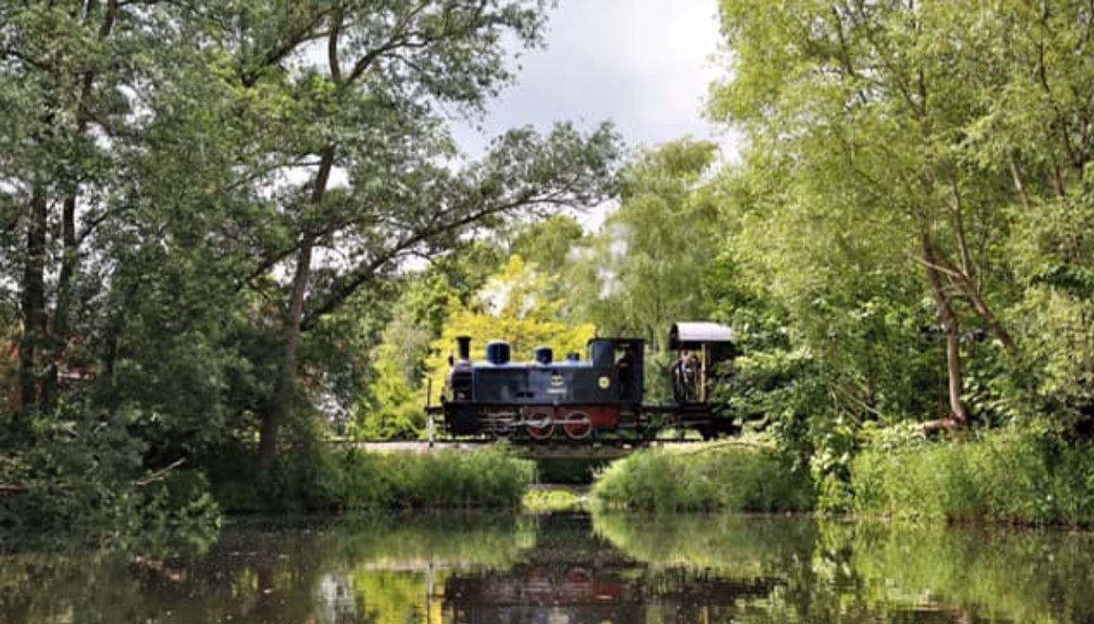 Olanda - Treno a vapore