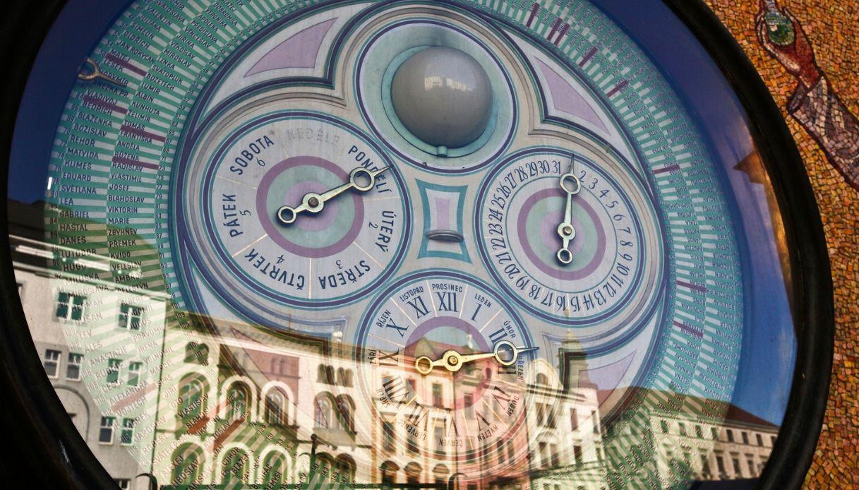 Olomouc - Orologio astronomico