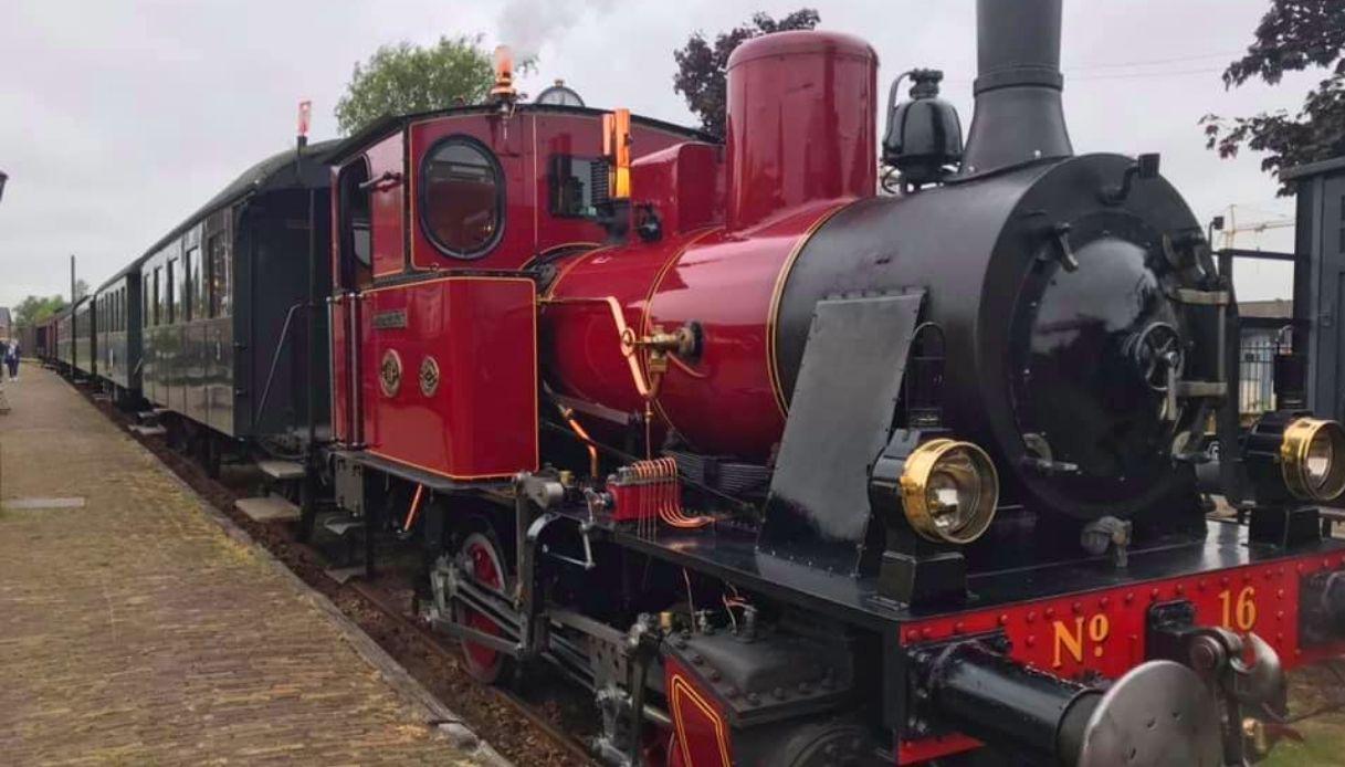 Treno a vapore - Olanda