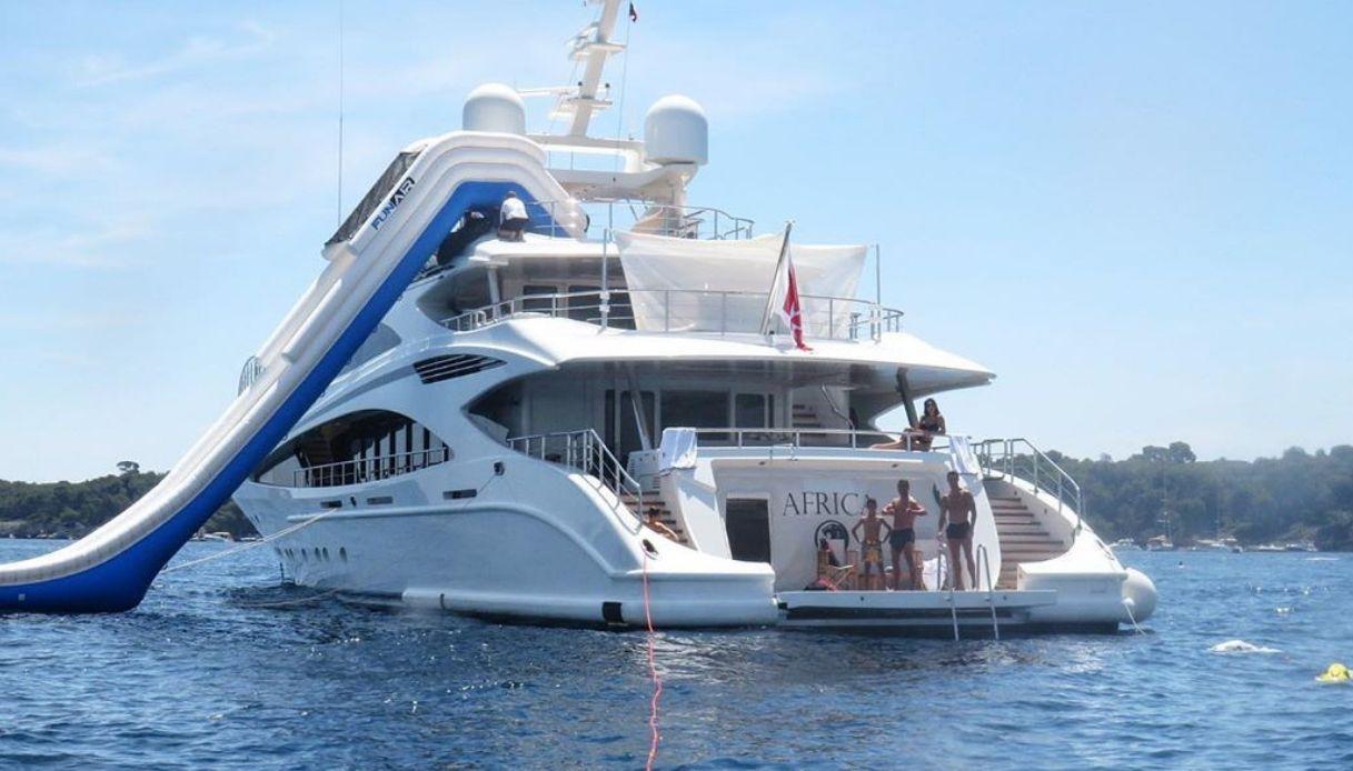 Tutto su Africa I, lo yacht noleggiato da Cristiano Ronaldo per le vacanze