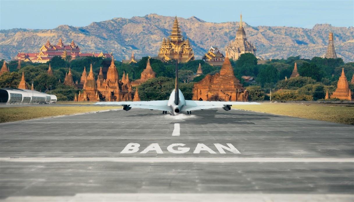 Visto turistico in aeroporto per Myanmar