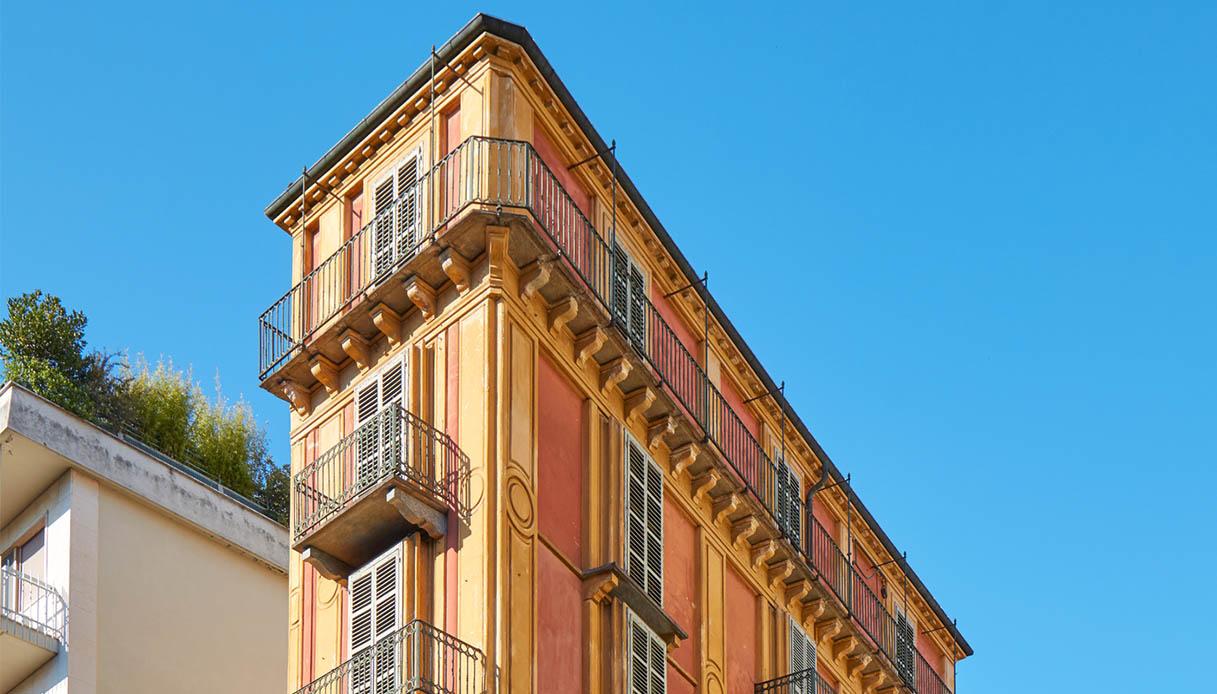 fetta di polenta, ed è l'edificio più strano di Torino