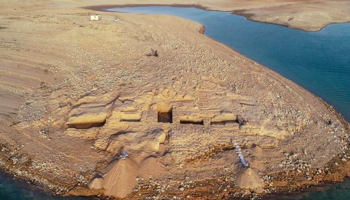 Rovine palazzo, Regno di Mitanni