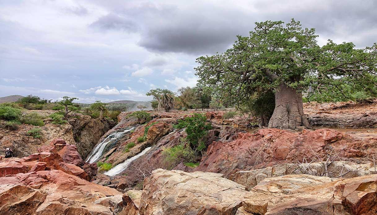 Cascate Epupa Namibia