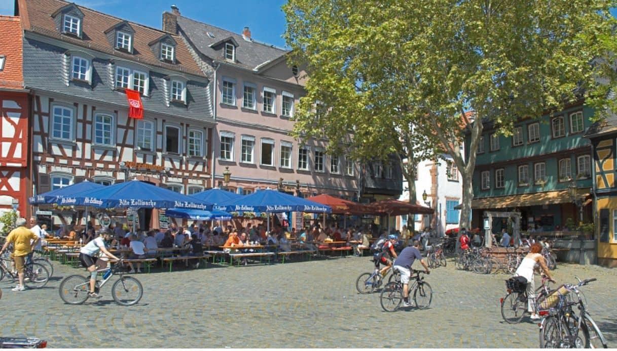Francoforte bicicletta