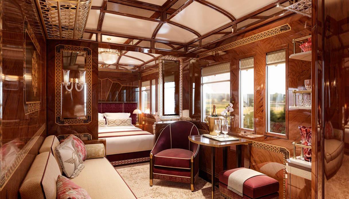 Treni di lusso: alla scoperta delle nuove grand suite dell'Orient Express