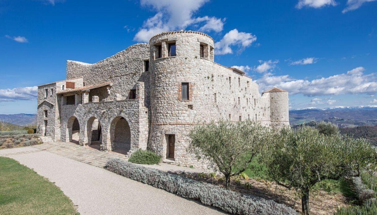 il Castello di Procopio conquista Fedez e Chiara Ferragni