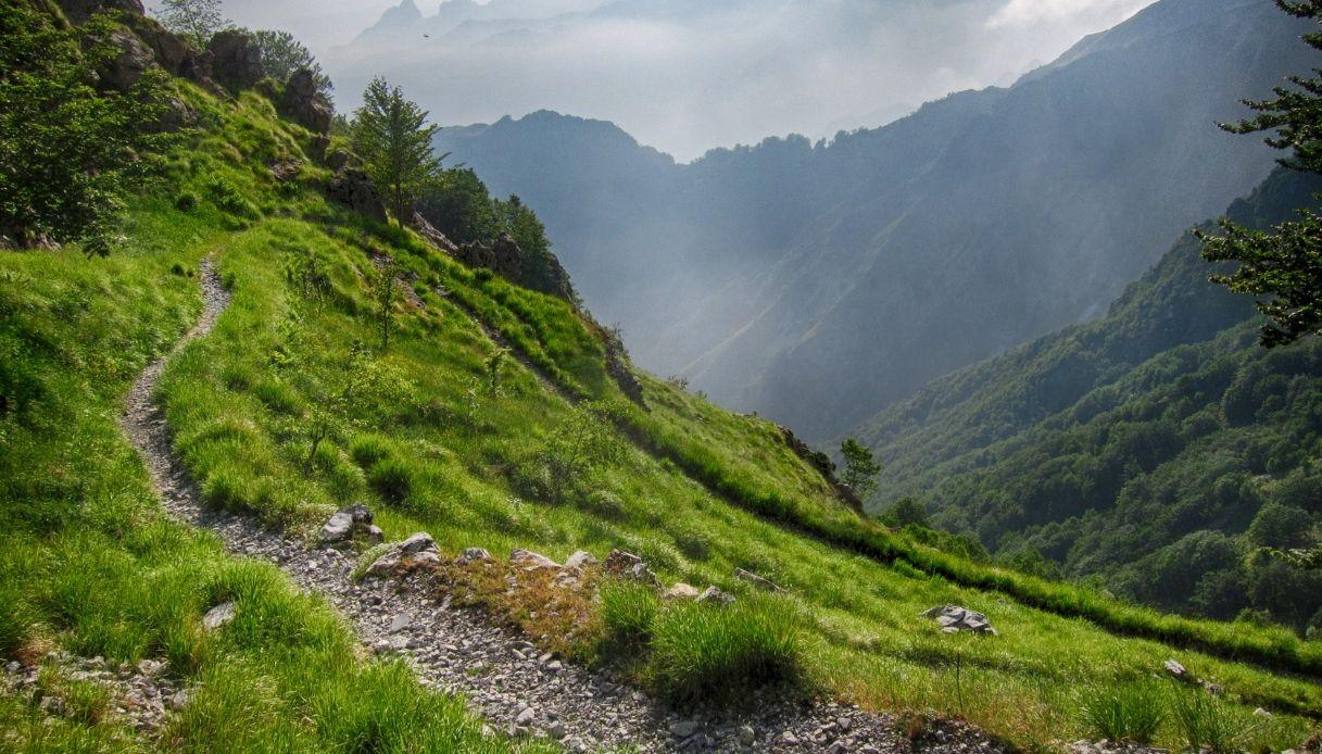 In bicicletta tra Emilia Romagna e Toscana, lungo la Via Vandelli