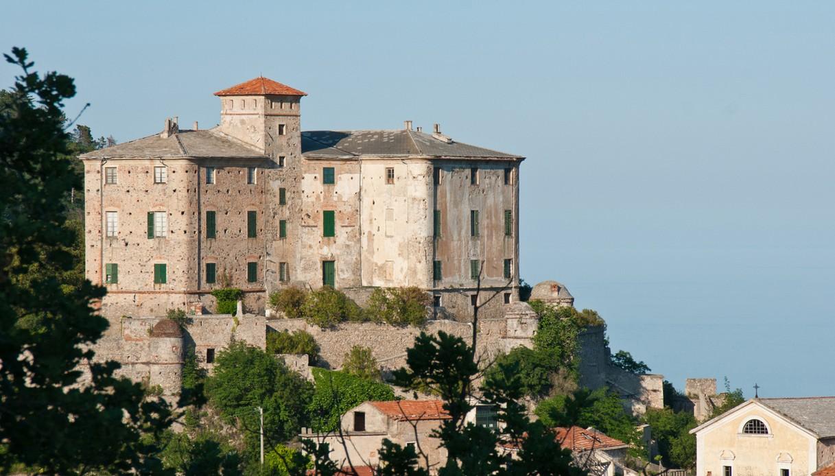 Il Castello dei Del Carretto a Balestrino