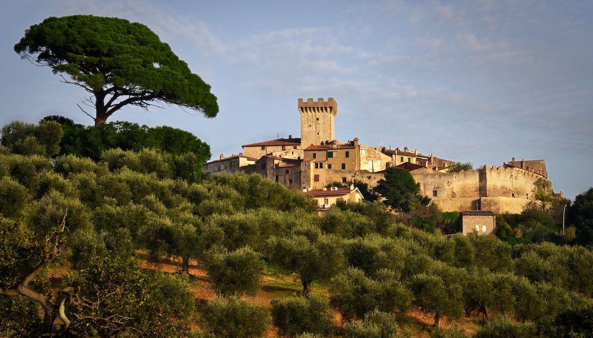 Panorama di Capalbio
