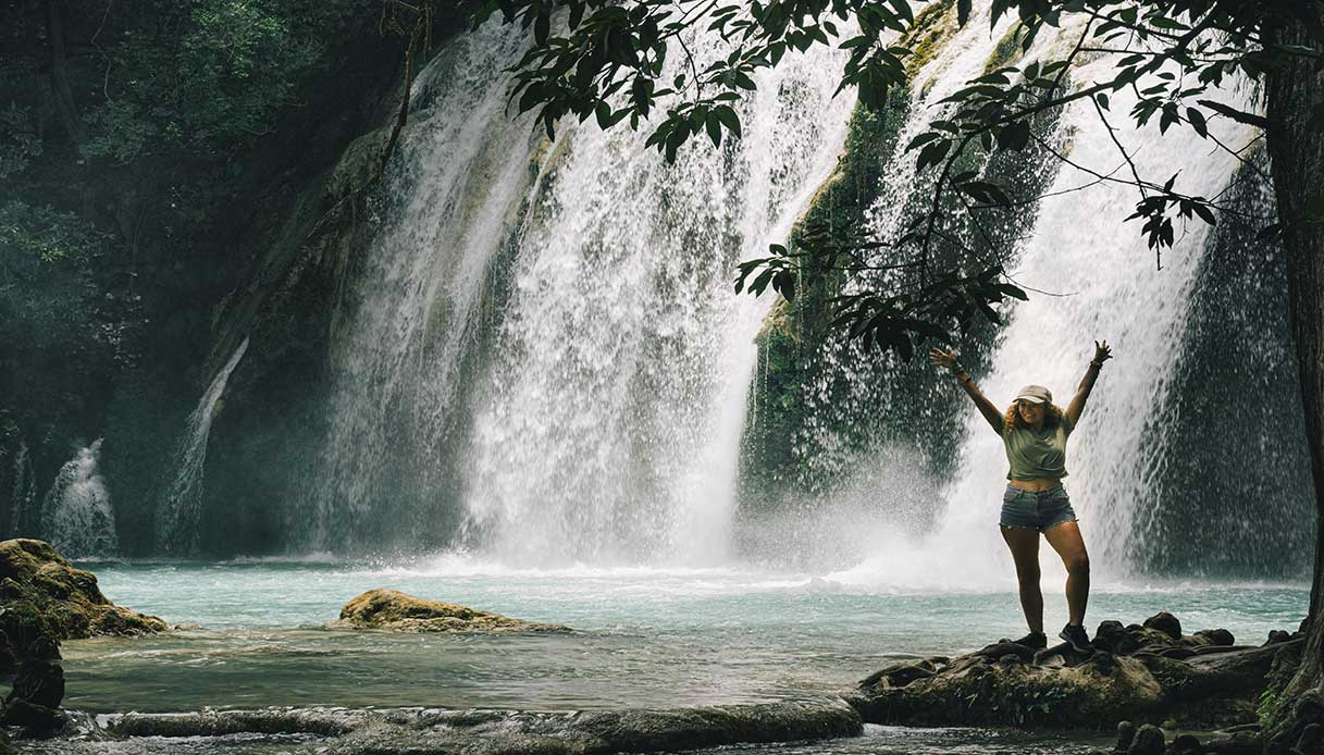 Cascata el Chiflon Chiapas