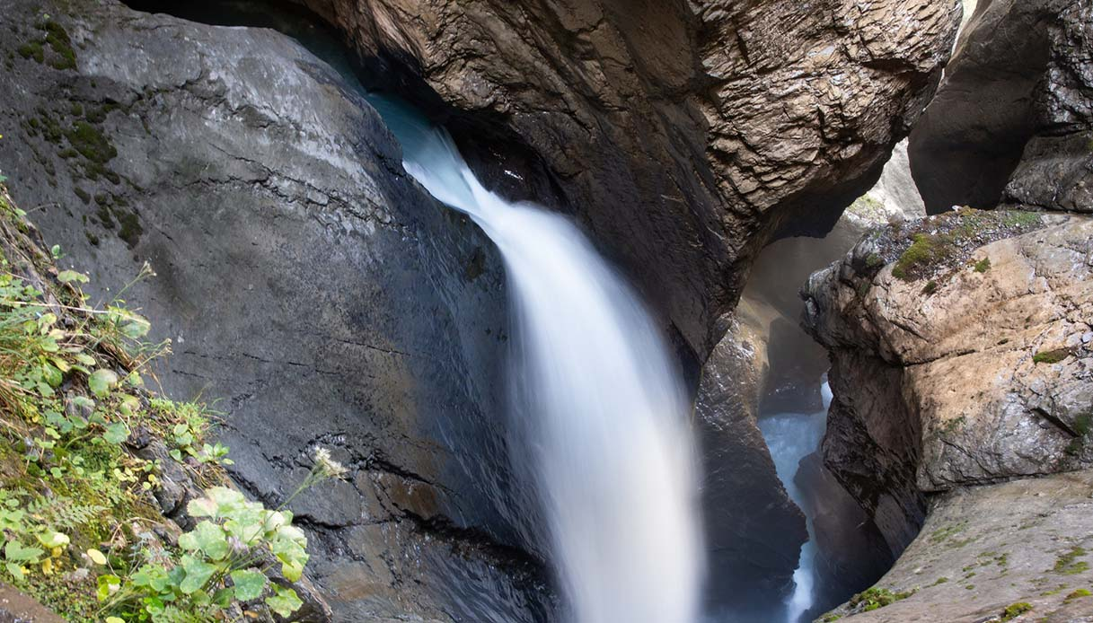 Le cascate di Trümmelbach