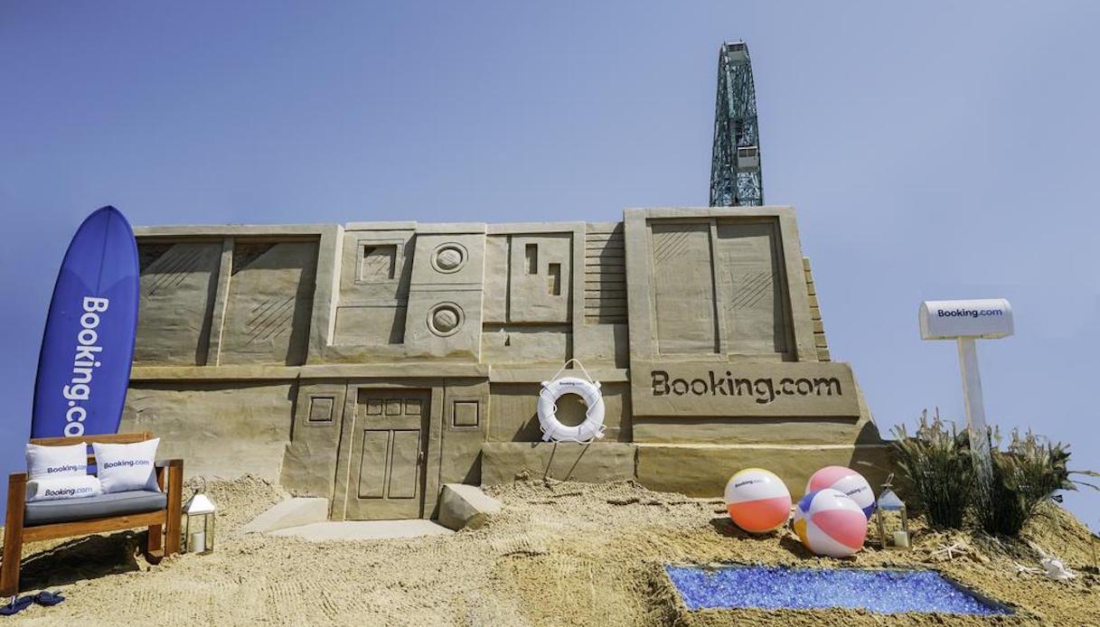 Castello di sabbia, New York