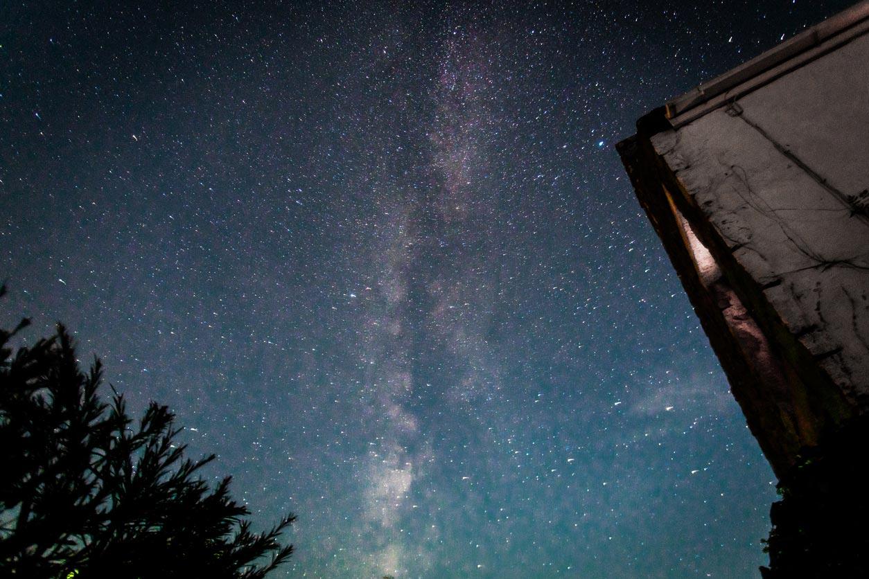 Il cielo stellato di Sark